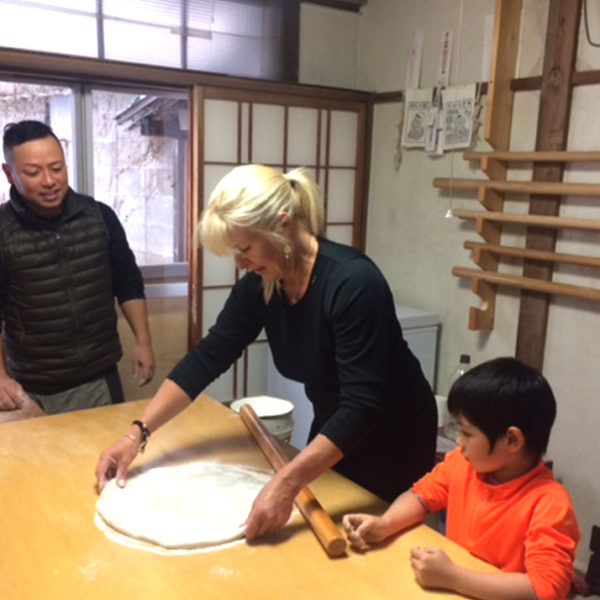 Soba School Nozawa Onsen Japan